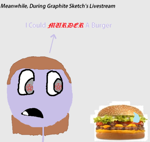 Meanwhile during Graphite Sketch's Livestream