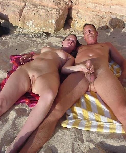Nude beach nudist