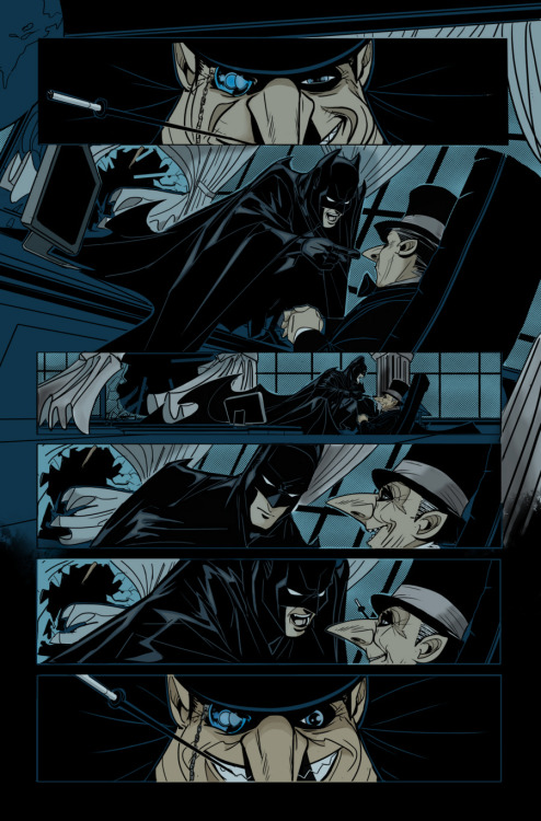 batman gates of gotham #1 page 15 art by trevor mccarthy colors by me  this is how i survive a blizzard in the northeast…a mouse and photoshop. who wants to donate for a tablet lol.