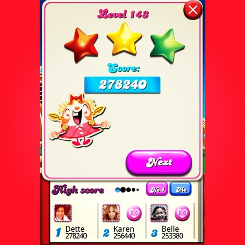 Finally, got 1st Place! #first #place #level143 #ccs #candycrushsaga #candycrush #stars #levelup
