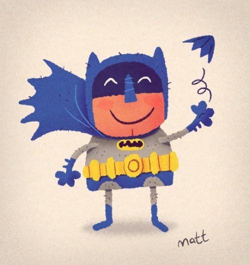 (via Dribbble - batman.jpg by Matt Kaufenberg)