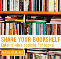 Share your bookshelf with Read It Forward for a chance to win a bookshelf full of books! Details here.