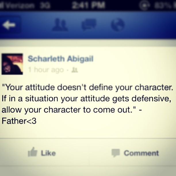 Wise words from my father. 💙 #quoteoftheday #wise #character #positive #attitude #change #inspired #youcandoit #smartman