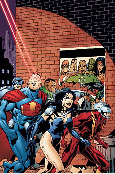 Ron Garney - Justice League