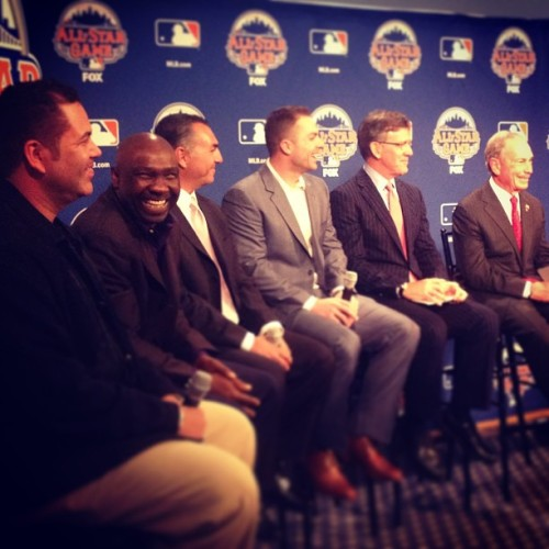 nycgov:  Major League Baseball, the Mets and Mayor Bloomberg announced exciting events happening in NYC during All-Star weekend this summer. New York City has hosted the All-Star Game nine times, but this year's game will be the first in Queens since 1964.