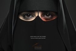 "Saudi Arabia, which ranked 131st out of 134 countries for gender parity in a recent report from the World Economic Forum, has unveiled what is believed to be its first major ad campaign condemning violence against women. The first ad, created by Memac Ogilvy in Riyadh for the King Khalid Foundation, shows a woman in a niqab with a black eye. The English version of the copy reads: ""Some things can't be covered: Fighting women's abuse together."""