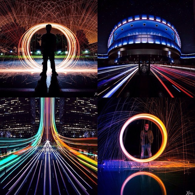 @xtoofur is a master of long exposure shots. Amazing steel wool pics? Check. Scenic highway light trails? You got it. But in addition to that are phenomenal light painting pictures, symmetrical edits, and an assortment of visually stunning, practically psychedelic photographs. Visit his feed, your eyes won't be disappointed.  This feature is by Amselcom editor @postaljeff. http://instagram.com/p/uYN3d7GYY-/Visit Amselcom
