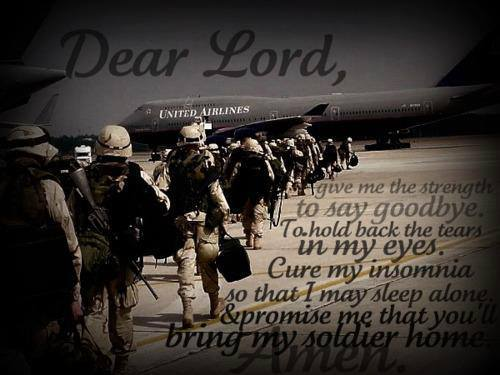 snipers-lady:  Amen.  Keep my soldier safe