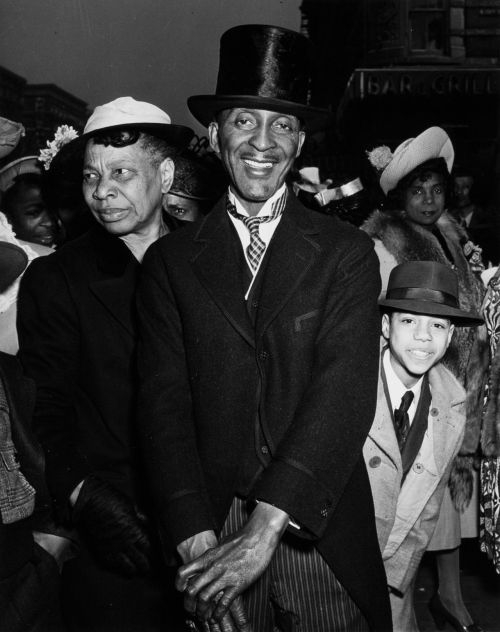Easter Sunday, Harlem, circa 1940. Photo by Weegee.