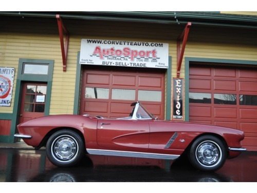 For Sale http://www.legendaryfinds.com/chevrolet-corvette-1962-corvette-convertible-hon/Chevrolet : Corvette 1962 Corvette Convertible HonClassic Cars 1925-1948: Chevrolet : Corvette 1962 Corvette Convertible Honduras Maroon/Black #'s Matching 327/340hp 4-Speed