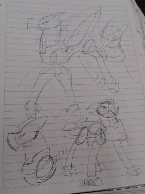 shinymightyena:  Quick doodles of practice and stylization of Aztec Falcon, although it's mostly by memory So I can finally get used to him and maybe draw him more often because he's my favorite mutos reploid other than Burble Heckelot