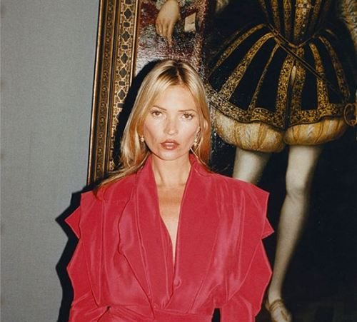 firm-tofu:  Kate Moss for Vivienne Westwood