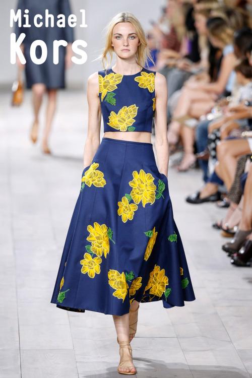 Sewing Inspiration - Michael Kors SS2015
