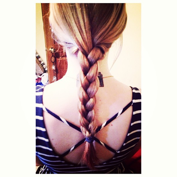 @katemcdphoto braided my hair :) so pretty!