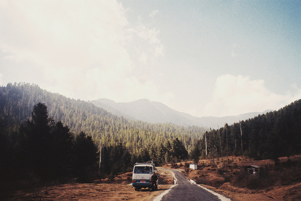 travelingcolors:  Roadtripping in Bhutan (by rachael hyde)