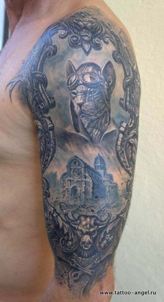 Tattoo done by Pavel Angel.