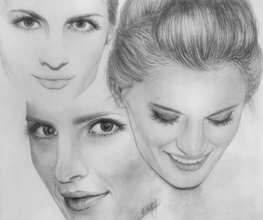 cherrysugarrush:  HAPPY BIRTHDAY, STANA! :)  4/26/78made this pencil drawing for her birthday. hope you like it :)  thank you for being an inspiration.   Artist: Krissy, Germany Medium: graphite pencil Gallery: http://kayrissy.deviantart.com/gallery/