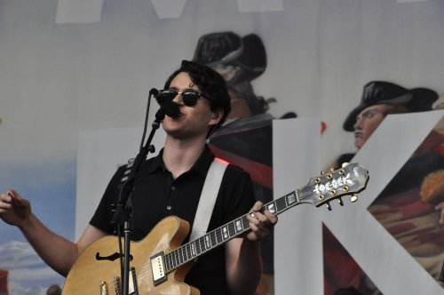 Ezra Koenig at Big Day Out - Sydney   I lah you