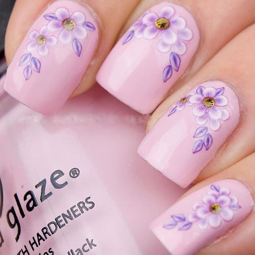 shopsimplexo:  Flower nail art decal, LIKE or NOT? (US$3.05)Check it now:http://shopsimple.com/m6nMBn