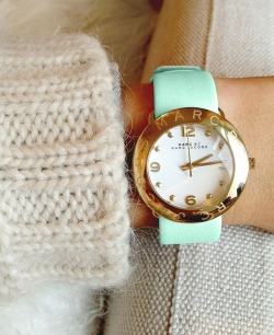bergdorfprincess:  Marc by Marc Jacobs watch