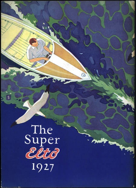 The Super Elto Boat1927 via Vintage Printable