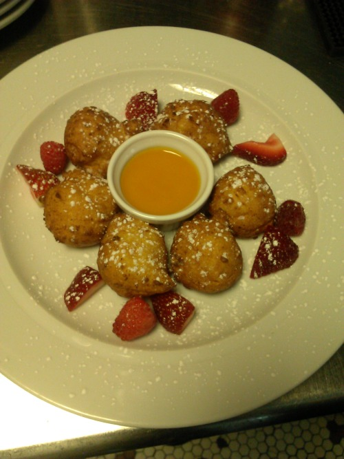 LEMON RICOTTA FRITTERS!!! GET THEM WHILE THE LAST THIS WEEKEND AT TOWNSHIP BRUNCH!!!!