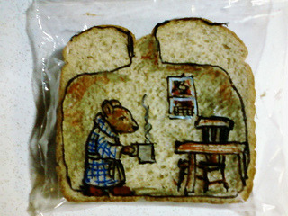 (via Dad illustrates kids' sandwich bags with imaginative drawings « Flickr Blog)