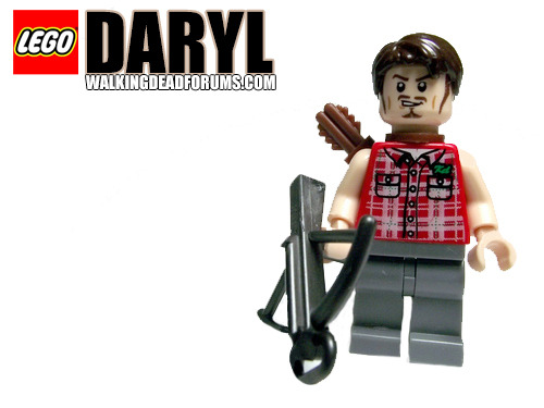 The Walking Dead: Lego Daryl Dixon