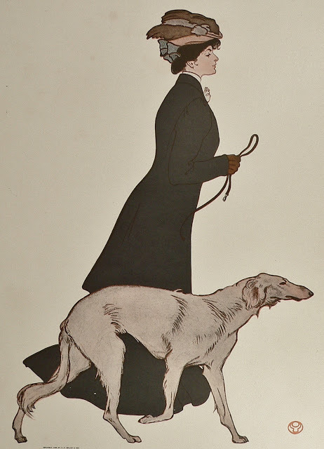 gdfalksen:  Edward Penfield, 1908 (via Animalarium)