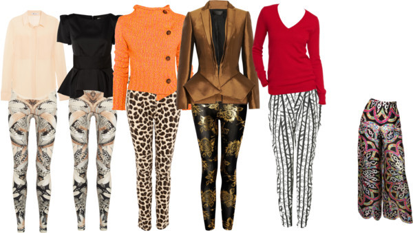 How To Rock Printed Pants : RicheLife.com by richelife featuring elastic waist pants
