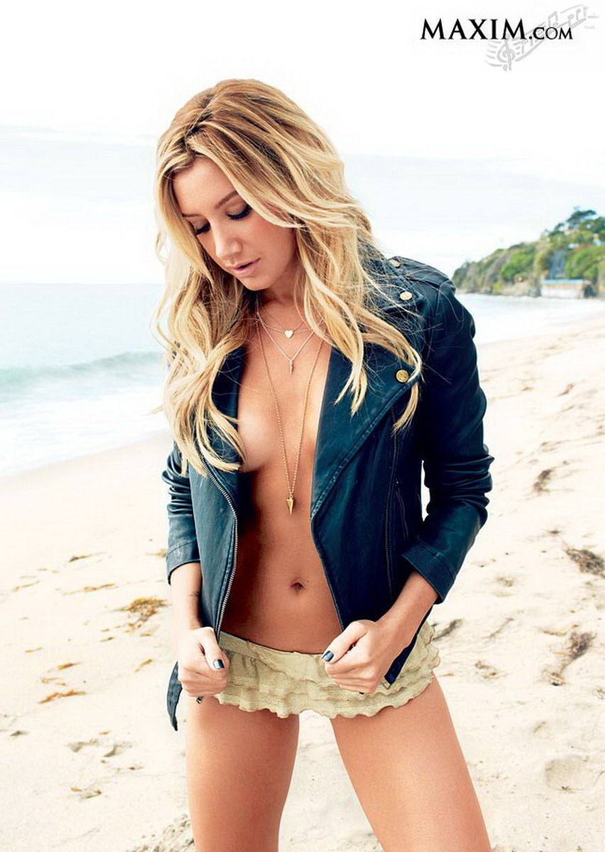 Ashley Tisdale in May 2013 issue of Maxim magazine
