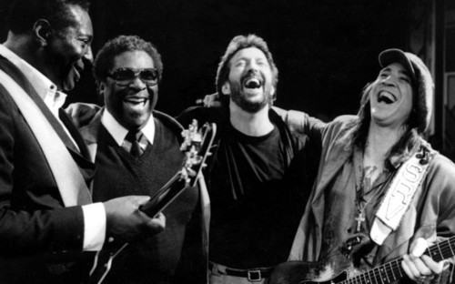 rootsnbluesfestival:  King, King, Clapton and Vaughan