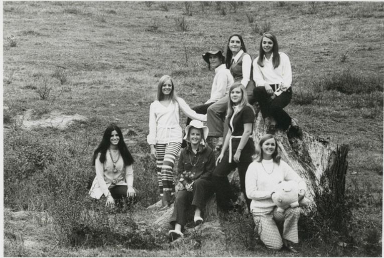 1970 yearbook photo. It was critical at that pig be represented with them.