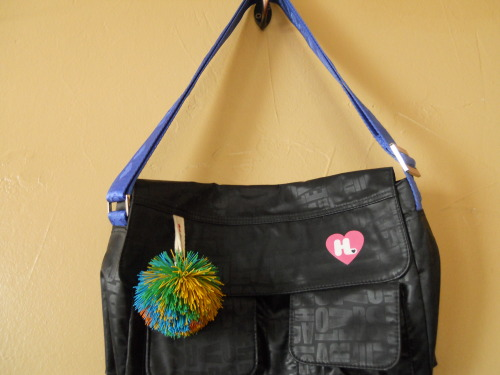 90s Vibes Crossbody bag with limited edition Koosh ball charm on ebay