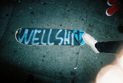 dontunderestimatemebitch:  Dry Chalk on We Heart It - http://weheartit.com/entry/39112135/via/Luladime