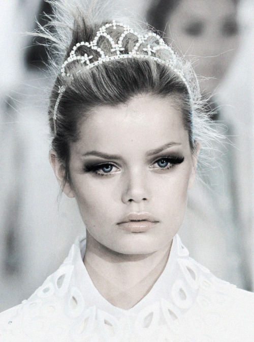 deprincessed:  Princess Frida Aasen at Louis Vuitton S/S 2012