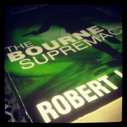 The #Bourne #Supremacy at long last #books #love #thriller #Ludlum  (at North Bombay Society)