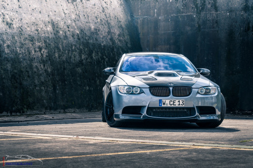 The BMW Manhart Racing MH3 V8 R Biturbo