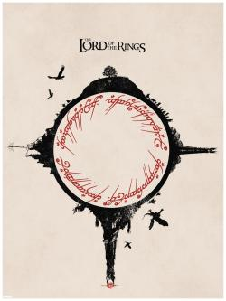 xombiedirge:  Lord of The Rings by Matt Ferguson / Tumblr / Website / Twitter