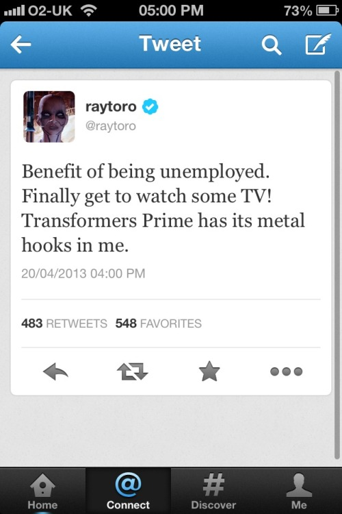 spaceagedwhizzkid:  REMINDER THAT RAY TORO IS UNEMPLOYED SOMEBODY HOLD ME  idk if i should laugh or cry