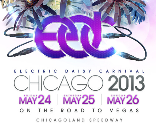 May 20, 2013 Who's ready for the FIRST ever EDC Chicago? We're hardly breathing after EDC NY, we continue our trek to EDC Vegas making a pit stop for the first time ever in Chicago. Tickets available here: http://electricdaisycarnival.com/Chicago/regular-admission.php
