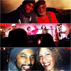 W/#MelvinVanPeebles & @RainPryor at his @WidLaxative concert at @MetropolitanRoom  (at Metropolitan Room)