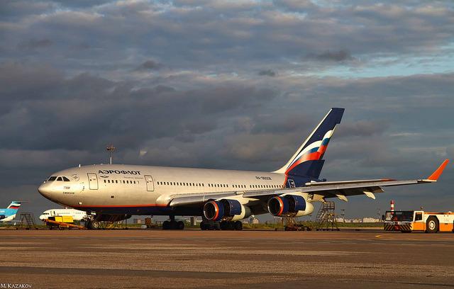 Ilyushin Il-96-300 Aeroflot Russian Airlines on Flickr.