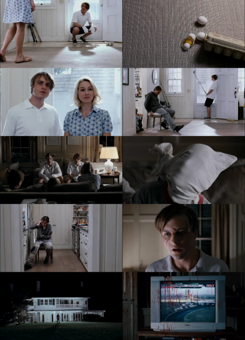 Funny Games US (2007. Michael Haneke)  Loved this film so much, the cinematography by Dariouz Khondji is great because it really sets the tone. Haneke is a genius!