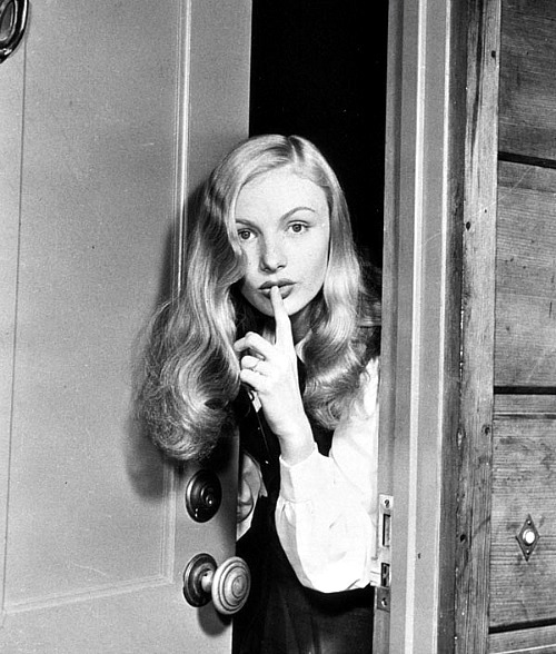 Veronica Lake in a publicity still in the 1940s.