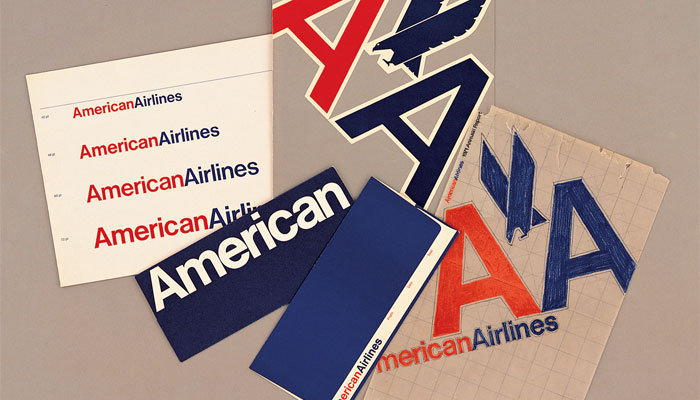 ckck:  R.I.P. Massimo Vignelli's iconic identity for American Airlines, 1968-2013. I quite like the new one though, and 45 years is a good run for any logo.  I wish they had kept the eagle logo in the new American Airlines identity.
