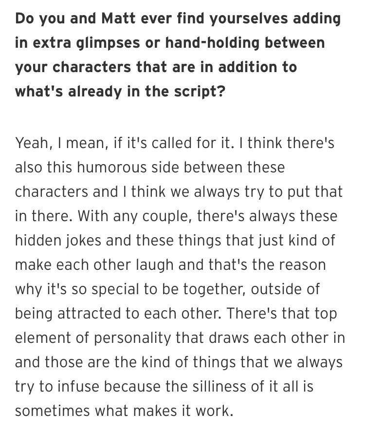 Harry Shum Jr about Malec