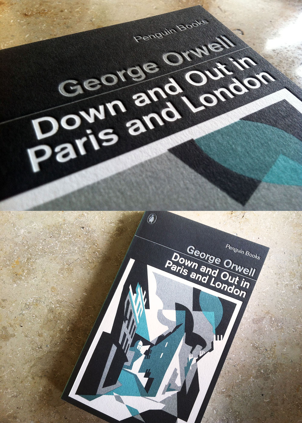 I just received a lovely edition of George Orwell's Down and Out in Paris and London in the mail. It's part of a series of Orwell classics that Penguin rereleased with beautiful covers designed by David Pearson. 1984 certainly wins the creativity price with a plain cover and blacked-out title. That said, I really love the detail of Down and Out.   Not long ago, I refused to buy Penguin books. The quality was just complete crap. Which is ironic, considering the company's history. Sir Allen Lane started Penguin precisely because he disliked the poor quality of paperbacks found at his local train station. So, he began publishing well-designed books of literature for the masses. As the company grew into a global publishing powerhouse, profitability became the sole objective and graphic design was considered an unnecessary expense. As soon as head designer Germano Facetti left the company in 1971, quality just went to hell. I'm not entirely sure what happened, but it looks like they are finally returning back to their roots. Over the past few months, Penguin came out with a whole bunch of amazingly designed books. I mean, Down and Out has a letterpress cover!   Now, there's an important point to this story. Publishers are constantly freaking out because they still don't know how to deal with digital. Will print die? I don't think so. People will always love the tactile experience of reading a book. But here's the thing: Digital will be a commodity while print will be a luxury. Just look at vinyl. LP sales have increased by 17.7% last year and most of the buyers are millennials.  You consume everyday music streaming, but when you really really like a record, you will buy the vinyl. Same holds true for books. Once you saw the cover for Murakami's 1Q84, you just had to hold it in your hands. You just had to own it. People just had to see you with that book! Publishers can survive the future, but they won't do so by competing with digital. Instead, they must focus on stuff that digital cannot offer. In the end, hiring an amazing graphic designer might just be the key to profitability.