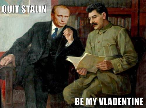Mitt may have binders of women…but I have gulags of women.  <3 VP