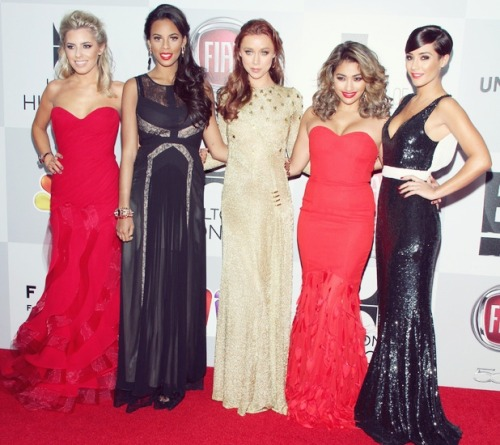 the girls at the golden globes <3